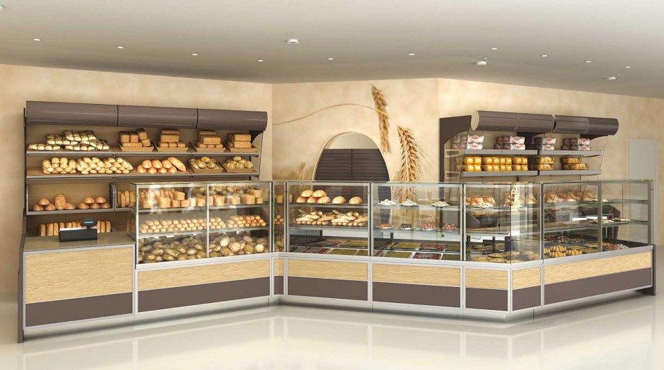 Progettazione e vendita arredamenti commerciali for Arredamento panetteria